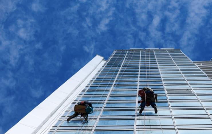 pulizie grandi vetrate